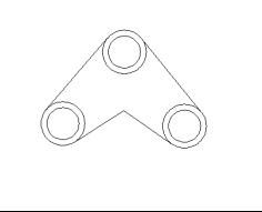 CAD的面域插件培训之并集运算-CAD运算机线切割cad布尔图片