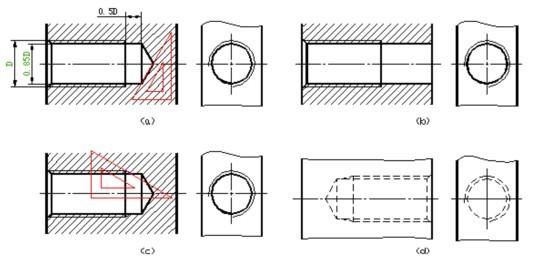 cad中螺紋的畫法圖片