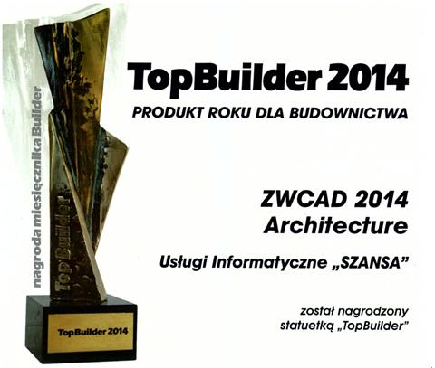 """中望CAD建筑版波兰荣获""""2014年度最佳建造贡献奖"""""""