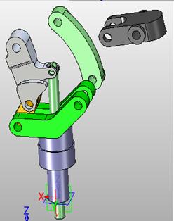 三维CAD速成电脑:中望3D2015高效操作爆炸图逆转方法创建教程裁判图片