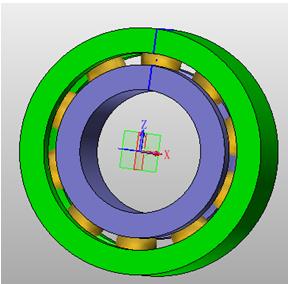 轴承三维CAD教程:中望3D快速定制标准件
