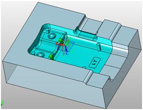 CAD软件技术学习交流区三维CAD分模教程:中cad里比1100图片