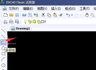 CAD多段线线宽设置