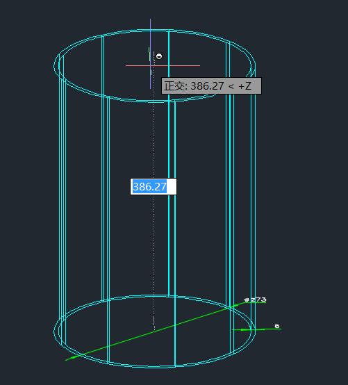 CAD如何画三维空心管道