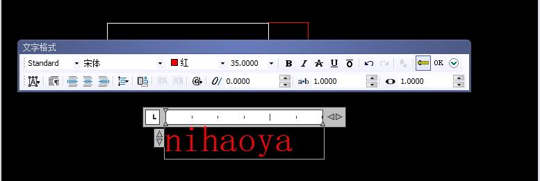 CAD加粗文字cad字母长英文图片