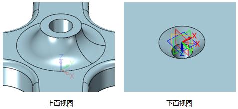4,圆柱体  创建半径为17.5mm,长度为45mm圆柱体,如图13所示.