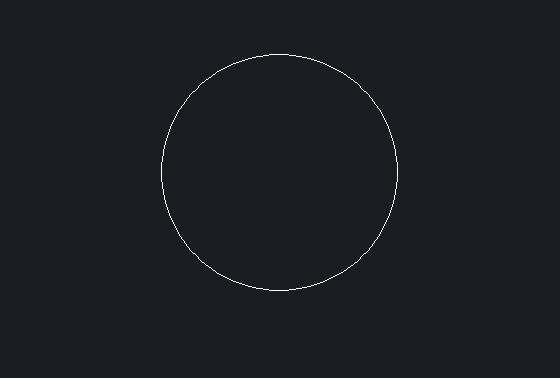 CAD等分圆时拔出产的点太小怎么办