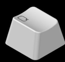 键盘帽用CAD怎么画?