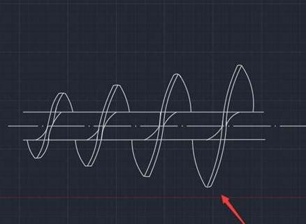 CAD绘制螺杆图的方法步骤